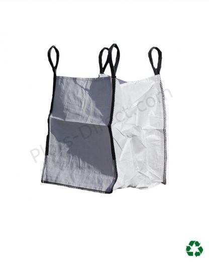 Big Bag 90 x 90 x 110 cm 1 m3 1500 Kg Plots-Direct.com