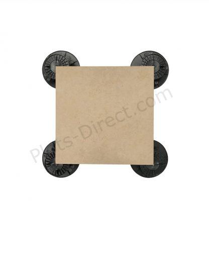 Dalle Gres Cerame 45×45 Beige Plots-Direct.com
