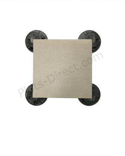 Dalle Gres Cerame 45×45 Ivoire Plots-Direct.com