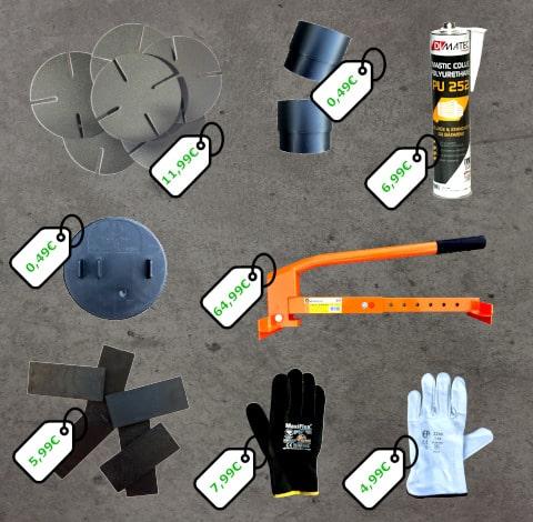 Accessoires terrasse Plots-Direct.com