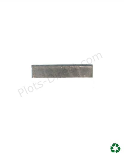 Grille caillebotis acier galvanise 10 x 100 x 2 cm cote Plots-Direct.com