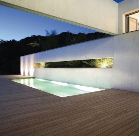 Terrasse bois piscine Lambourdes-Direct.com